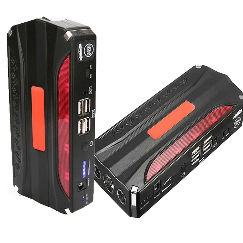 68800mAH 12V USB urządzenie do uruchamiania awaryjnego samochodu Power Booster Charger Auto Truck SUV przenośny zestaw konserwacyjny