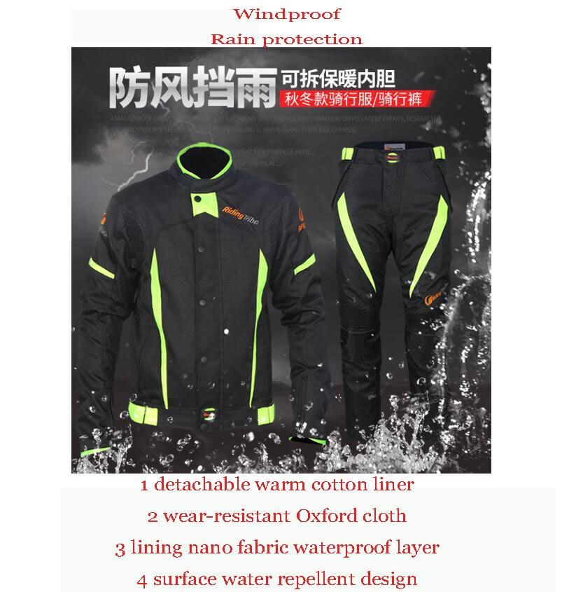 Combinaison de course pour moto de fond chaude combinaison moto MX DH vtt maillot et pantalon Yamaha combinaison coupe-vent