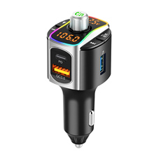 Audio-Player Bluetooth MP3 Backlit Wireless with LED BC67 Car-Kit Car-Fm-Transmitter