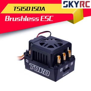 SKYRC TORO TS150 150A Brushless Sensored Motor ESC For 1/8 RC Car Buggy Truggy Monster Truck Trx4(China)