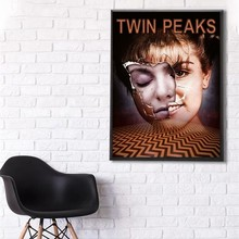 Twin Peaks Poster  clear image, wall decoration, high quality copper paperboard, home decoration цена 2017