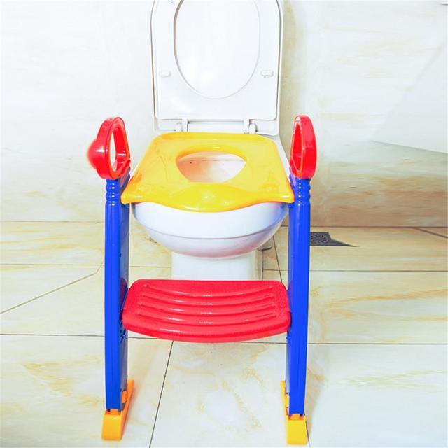 Kidlove Children Folding Toilet Ladder Baby Toilet with Pedal Adjustable Version 4