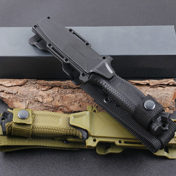 FW-G1500 Fixed Knife Camping Hunting Knives ABS Handle 12C27 Blade Tactical Knife Wildness Survival EDC Tool 5