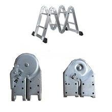 Passo pesado escada dobradiça dobrável escada telescópica de alumínio interruptor de bloqueio comum fivela conexão fixador acessórios da escada