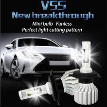 2pcs LED Headlamp H4 9004 H15 Ultinon Essential Car 6000K White Light Auto Headlight Fog Lamps  2500LM 25W