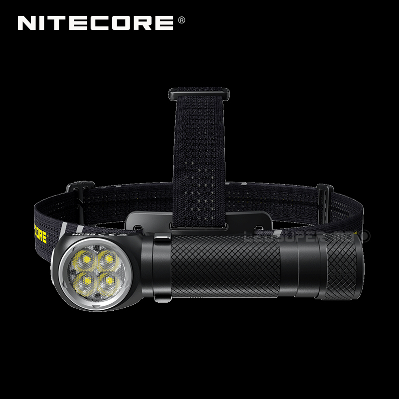 2700 Lumens Nitecore HC35 4 X CREE XP-G3 S3 LEDs Next Generation 21700 L-shaped Headlamp With 4000mAh Battery