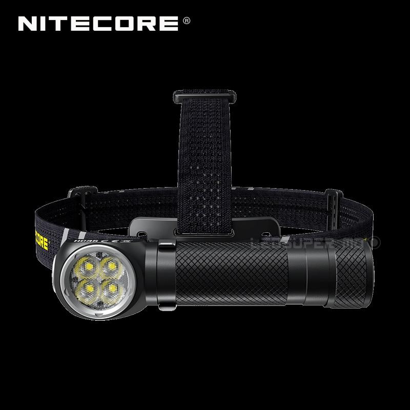 2700 Lumens Nitecore HC35 4 X CREE XP-G3 S3 LEDs Next Generation 21700 L-shaped Headlamp With 4000mAh Battery