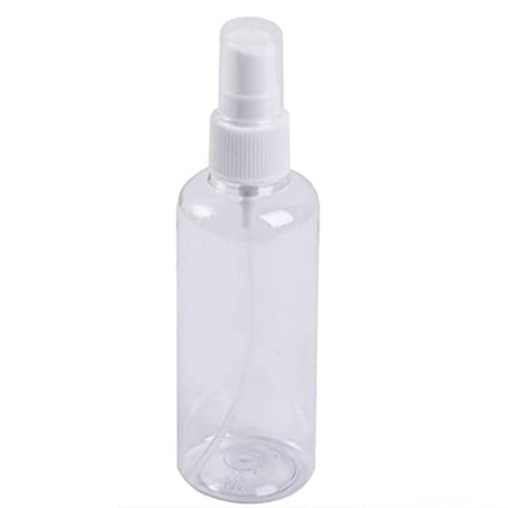 10PCS 50ml Empty Spray Bottle Travel Plastic Perfume Atomizer Pump Bottle LOT UK