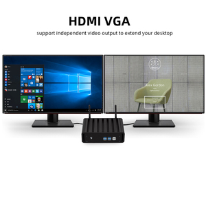 Image 4 - Mini PC Intel Core i7 7500U i5 7200U i3 7100U Windows 10 4K HTPC Gigabit Ethernet 300M WiFi HDMI VGA 2*USB3.0 4*USB2.0 Nettop