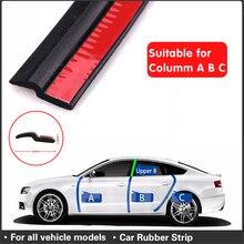 4 Meter Z Type Automobiel Kit Afdichtstrip Geluidsisolatie Isolatie Afdichting Strip Hoge Kwaliteit Auto Deur Afdichting Tape