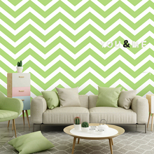 Nordic Geometric 3D  Wave Wall Papers Abstract PVC Waterproof  Ins Pink Green Wallpaper Roll for Kids Bedroom Living Room Walls цена