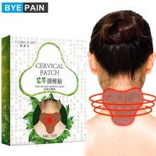 10 unids/set BYEPAIN Cervical Vertebra parche para calmar el dolor autocalentamiento pegatina moxibustión pegatina de ajenjo alivio del dolor