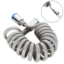 Wiosna elastyczny wąż prysznicowy do wody hydraulika Bidet pistolet natryskowy linia telefoniczna wąż hydrauliczny akcesoria łazienkowe