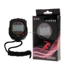 Timer Stopwatch Running-Training Handheld Multifuction Sports Digital Tracks 10-100 Professional