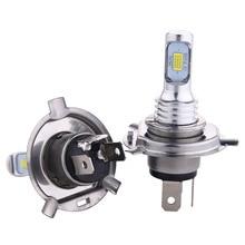 2PCS H4 H7 H11 H16 LED Headlight Bulb 12V 80W High Power Fog Lights LED Car Light Headlamp 6000K Auto Headlight Bulbs