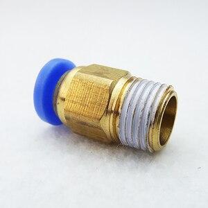 Image 5 - 100 шт. пневматический прямо через быстрое освобождение фитинг клапана фитинги разъем PC6 01 PC6 02PC8 01 PC8 02 PC4 m5 PC10 02 быстросъемный фитинг
