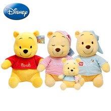 Originele Disney 30Cm Winnie De Pooh Honing Pot Nachtkleding Bear Animal Gevulde Pluche Pop Leuke Ragdoll Speelgoed Kinderen Verjaardag gift