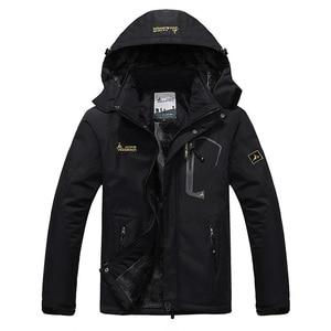 Image 1 - SPORTSHUB Chaqueta impermeable con forro polar interno para hombre, abrigo cálido para exteriores, senderismo, Camping, Trekking, esquí, SAA0082