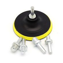 1PCS M10 M14 Elektrische Drijfstang Boor Hoek Molen Handvat Adapter zuignap zelfklevende Staaf Voor Grinder disc Handgereedschap