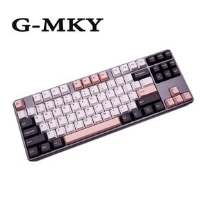 Image 5 - G MKY 160 klawisze Cherry Profile Olivia Keycap DOUBLE SHOT grube nasadki na klawisze z PBT dla MX Switch klawiatura mechaniczna