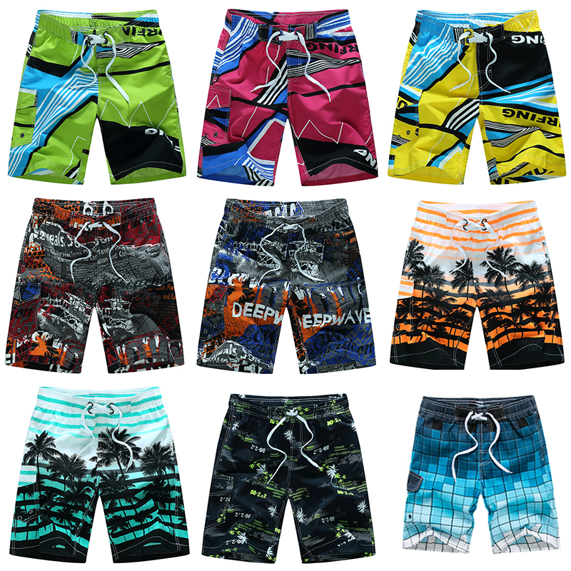 Men's Surf   Board     Shorts   Surfing Beach Trunks Swimming Wear Bermudas Masculina Swimwear Plus Size 4XL 5XL 6XL