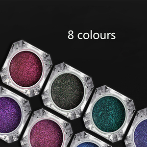 Image 4 - 0.5g Nail Mirror Glitter Powder Metallic Color Nail Art UV Gel Polishing Chrome Flakes Pigment Dust Decorations Manicure