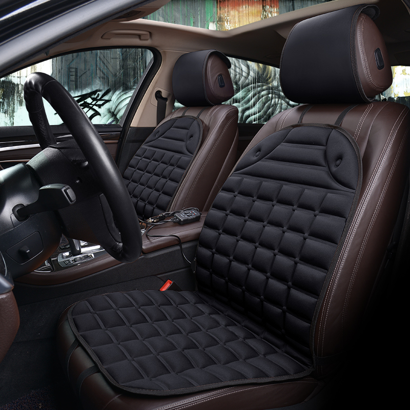 Car <font><b>Seat</b></font> <font><b>Cover</b></font> Heated Cushion Auto <font><b>Covers</b></font> for <font><b>Peugeot</b></font> 106 107 205 206 207 208 <font><b>301</b></font> 306 307 308 309 405 406 407 408 508 607 807 image