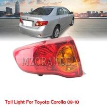 MZORANGE reflektor tylnego zderzaka światło do toyoty Corolla 2008 2009 2010 tylne światło zderzaka tylnego hamulca montaż samochodów