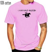 Percy jackson olympians camp meio sangue-camiseta unisex-6 tamanhos camisa semigod