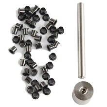 Kydex eyelet ferramenta setter conjunto kit com bigorna e ilhós para diy kydex bainha ferramenta ao ar livre