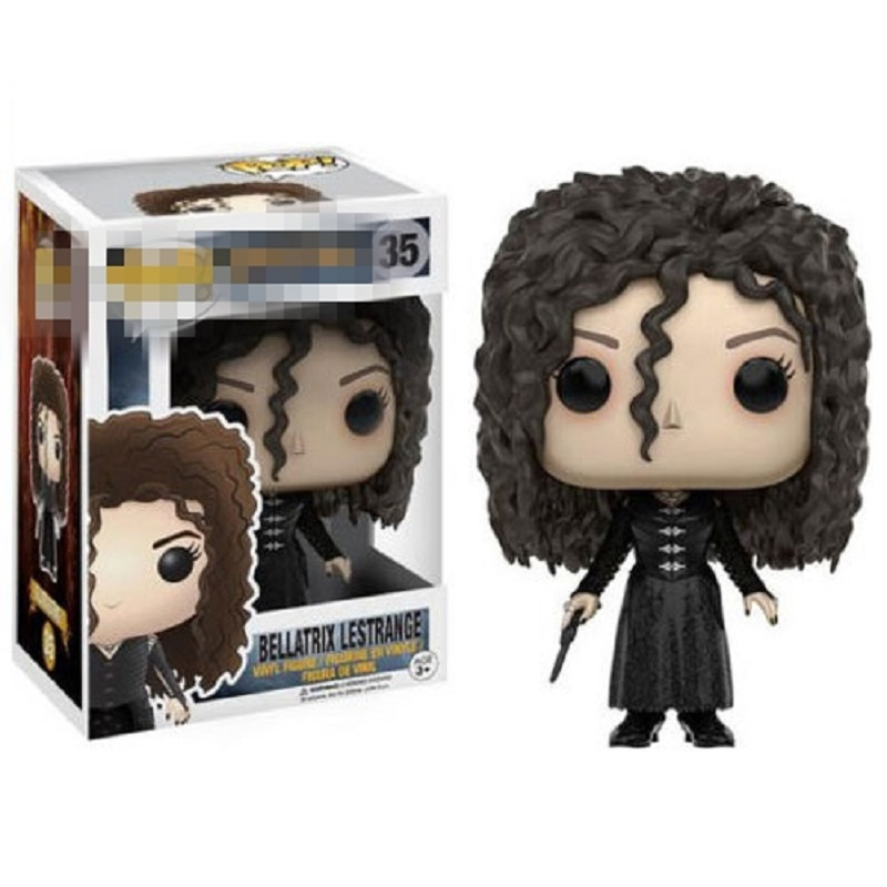 Funko POP Figures Harries Potter Bellatrix Lestrange Alastor Moody Limited Vinyl Dolls Model Toys For Children Birthday Gifts 2