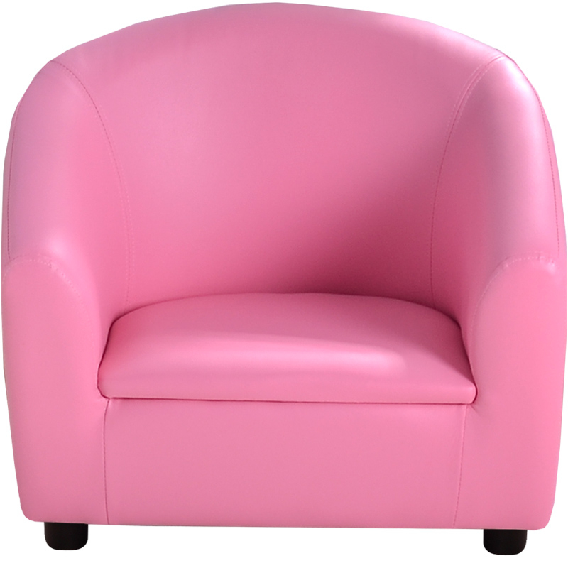 Children Round-backed Armchair Cool Castle Baby Sofa Pink Lovely Kids Small Sofa Leatherwear Bean Bag Zitzak