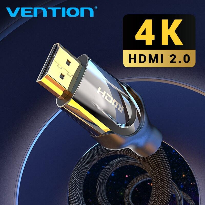 Mukavele HDMI kablosu HDMI HDMI kablosu 4K HDMI 2.0 3D 60FPS kablosu Splitter anahtarı TV LCD diz üstü PS4/3 projektör kablosu HDMI