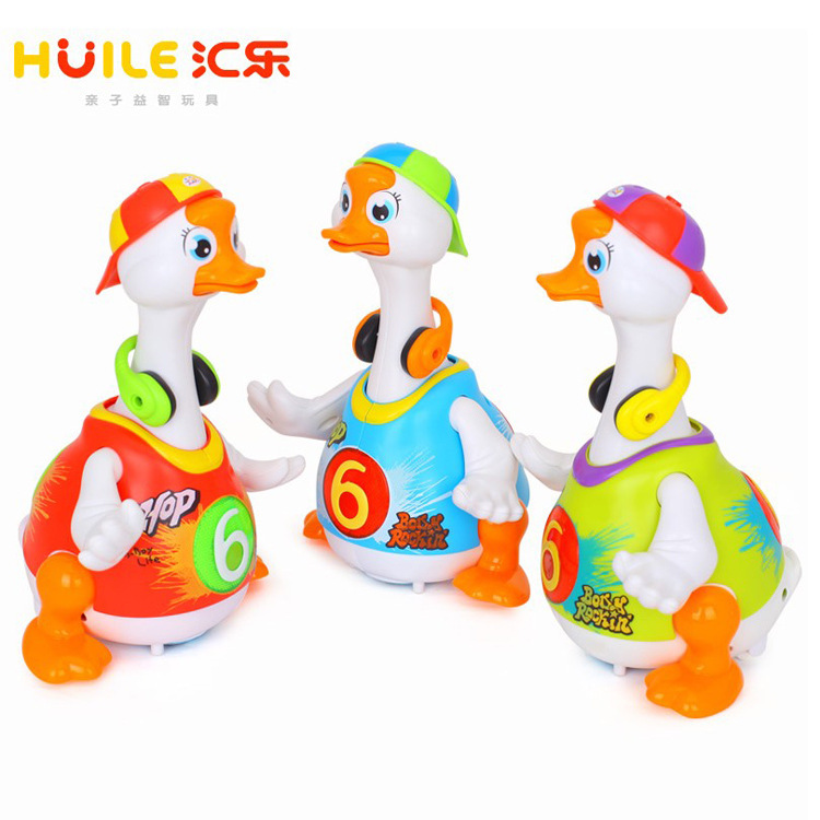 Department Of Music 828 Sway Goose CHILDREN'S Electric Toys Talking Singing Dancing Duck 1-2 A Year Of Age Boys And Girls