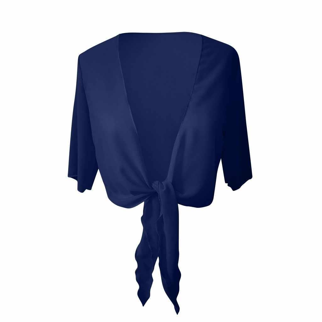 Frauen Weichen Chiffon Schal Wraps Für Abendkleid Sommer Dame Bluse Hochzeit Bolero Cape Flapper elegante Tops Blusas Femininas
