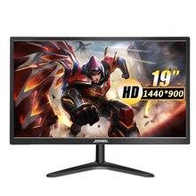 Monitor do computador do portátil 60 hz do jogo de 19 polegadas com relação hdmi e vga 5ms 250 cd/mmonitor do orador incorporado para ps3 ps5 x-box