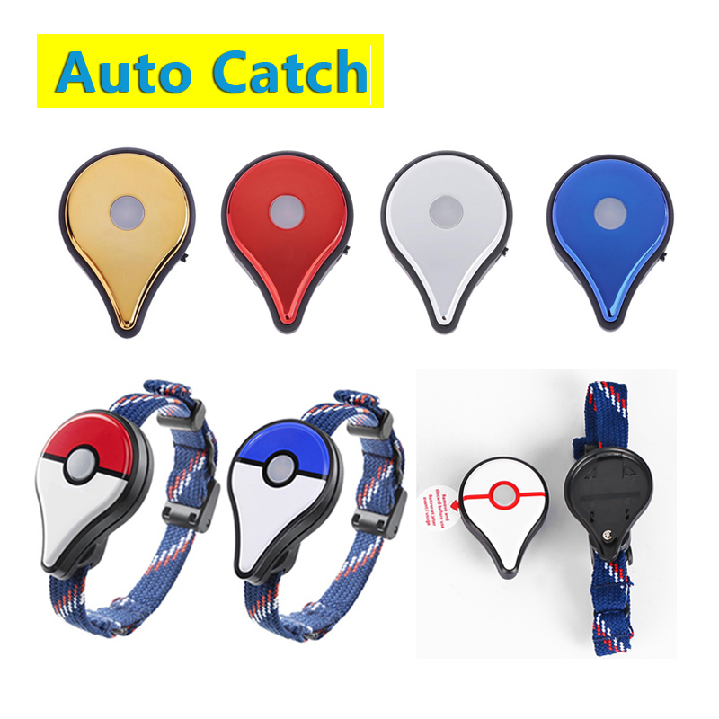 Auto Catch For Pokemon Go Plus Bluetooth Wristband Bracelet Interactive Band Smart Wristband With Charger Game Accessories