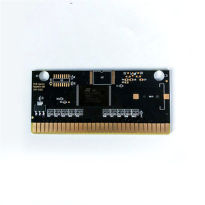"Image 4 - Pulseman דופק איש ארה""ב תווית Flashkit MD Electroless זהב PCB כרטיס עבור Sega Genesis Megadrive וידאו קונסולת משחקים"