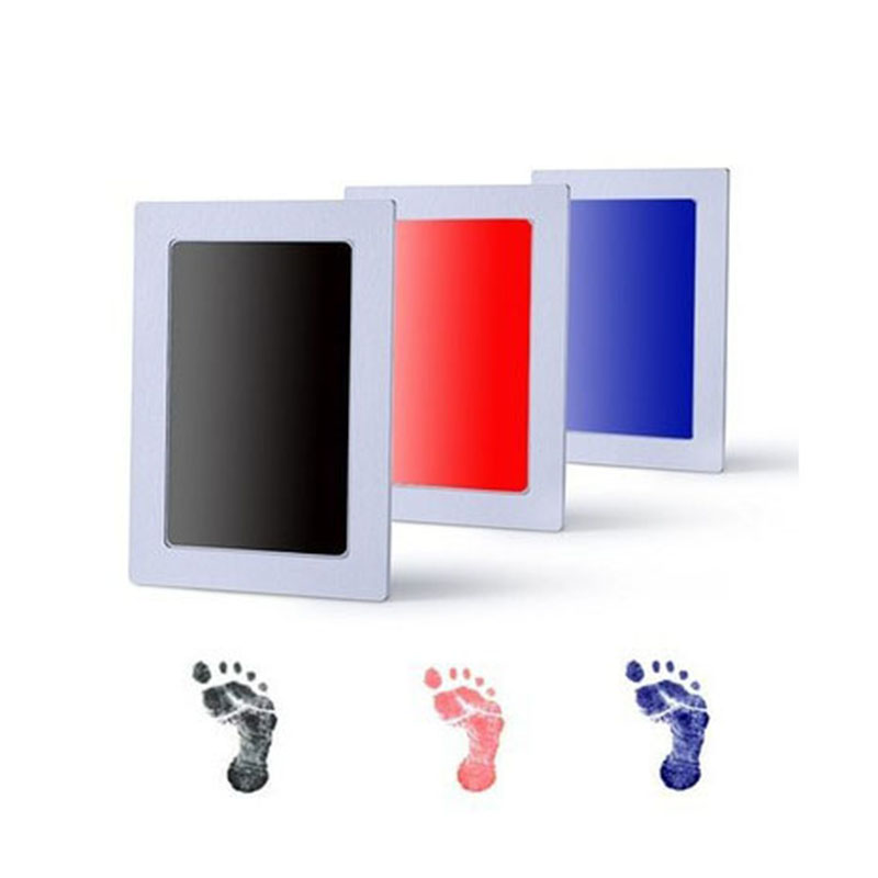 Newborn Baby Handprint Footprint Pad Safe Clean Non-Toxic Clean Touch Ink Pad Photo Easy To Operate Hand Foot Print Pad