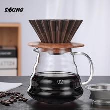 Kaffee Maker Kaffee Set Keramik V60 Kaffee Filter Tasse Wolke Topf Kaffee Kanne Multi-Farbe Kaffee Trichter