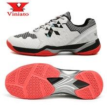 цена 2020 New Badminton Shoes Women Men White Red Professional Tennis Shoes for Ladies Girls Luxury Light Weight Badminon Sneakers онлайн в 2017 году