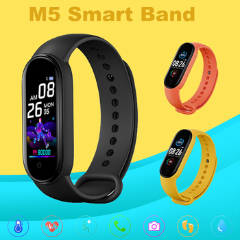 M5 Smarth watch Sport Fitness Tracker Pedometer Heart Rate Blood Pressure Monitor Bluetooth Call Reminder Remote Men Women smart watch band men women blood pressure oxygen monitor men women heart rate tracker call message reminder sport fashion watch