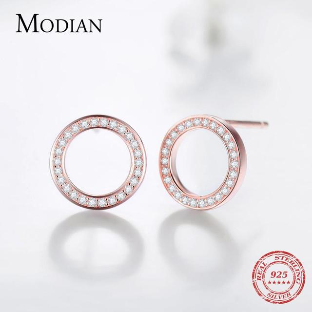 High Quality Sterling Silver Luxury Crystal Earrings 5