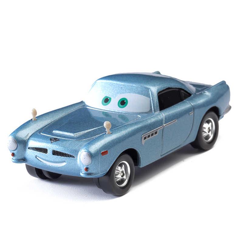 Disney Pixar Cars 3 2 Mainan Lightning McQueen Jackson Badai Ramirez Mater 1:55 Diecast Logam Paduan Model Mobil Hadiah Anak mainan Anak