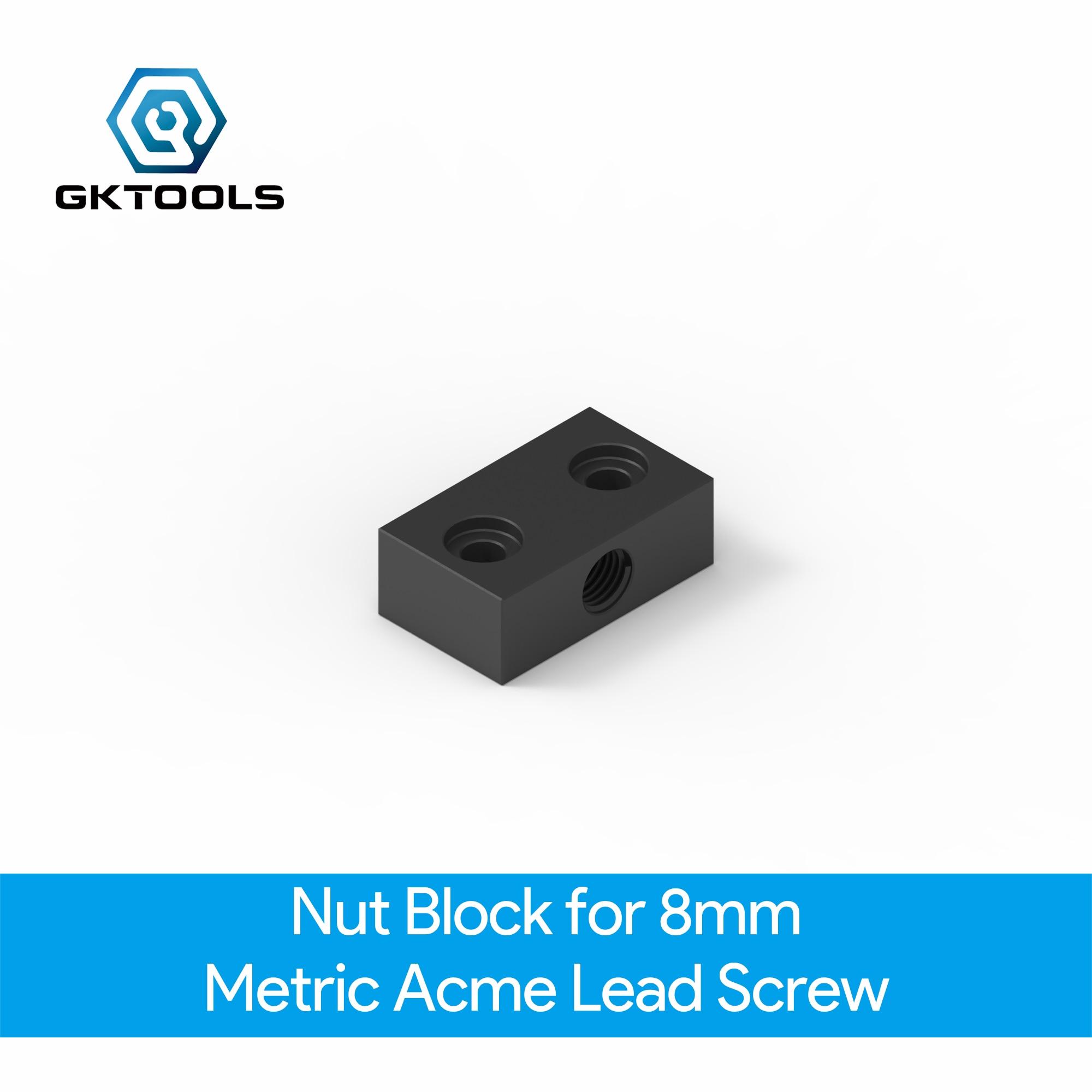 OpenBuilds Nut Block For 8mm Metric Acme Lead Screw