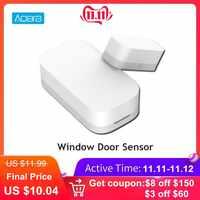Aqara capteur de fenêtre de porte intelligente capteur de porte équipement de sécurité domestique Intelligent avec connexion sans fil ZigBee pour Android IOS