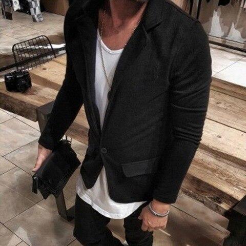 HEFLASHOR Luxury Men Blazers Hombre Casual Vintage Business Casual Blazer 2019 Autumn Jacket Smart Coat Suit Formal Blazers Islamabad