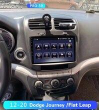 For Dodge Journey Fiat Leap Car Multimedia Player 2012-2020 Dodge Journey Fiat Leap GPS Navigation Radio Player 4G Full Netcom