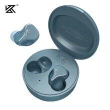Kz sks tws bluetooth 5.2 1ba + 1dd híbrido fones de ouvido jogo esporte controle toque com cancelamento ruído fone kz z1 s1 s2 z3 sa08