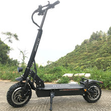 FLJ Newest 11inch Off Road wheel 60V/3200W Electric Kick Scooter for Adults powerful e scooter electric electro scooter(China)